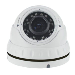 2DVTV200V - HD-TVI IR Dome Camera - Indoor/Outdoor - Vandal Proof - Sony - 1080P - 2.8mm - 12mm Varifocal Lens