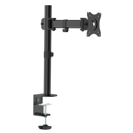 "309001BK - Desktop Clamp Articulating TV/Monitor Mount: 13""-27"" Screens"