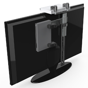 309405BK - Foldable & Hidden Cable Box /DVD Mount