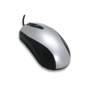 3U00050 - iMicro USB Optical Mouse (Silver/Black)