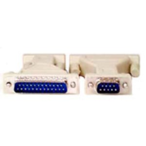 503121 - SERIAL Adapter DB9 Male to DB25 Male
