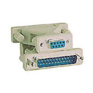 503123 - SERIAL Adapter - DB9 Female to DB25 Male
