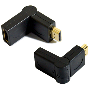 503288 - HDMI 90/270 Degree Swivel Adapter - Male to Female