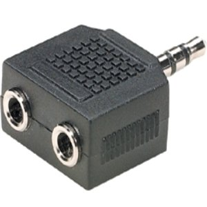 503468 - 3.5mm Stereo Splitter - Male to (2) Female
