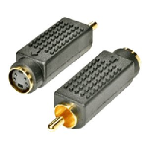 503490 - S-Video to RCA Adapter - Female to Male