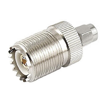 503732 - SMA to UHF Adapter - Male to Female