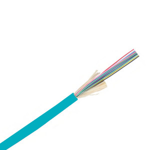 160203/FT - OM3 Fiber Optic Cable, Indoor/Outdoor, 6-Strand, Multimode, 50/125, Plenum (CMP) - PER FT