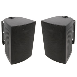 "TDX-IO65BK - TDX - 6.5"" 2-Way Wall Mounted Speaker - Pair"