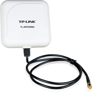 TL-ANT2409A - TP-LINK - 2.4GHz 9dBi Outdoor Directional Antenna with RP-SMA Connector