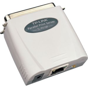 TL-PS110P - TP-LINK - Single Parallel Port Fast Ethernet Print Server