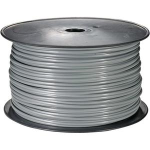 106115SL - Flat Telephone Wire, 26/4, Silver - 1000ft